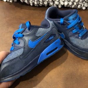 NIKE AIR MAX toddlers- blue